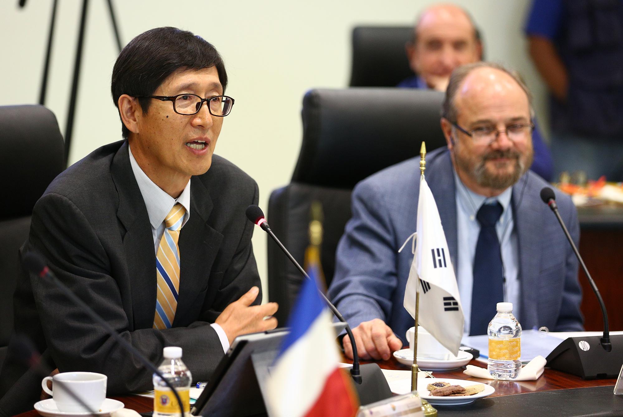 Dr Won-Ho Kim (República de Corea)
